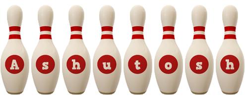Ashutosh bowling-pin logo