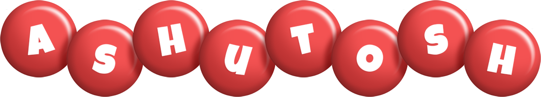Ashutosh candy-red logo