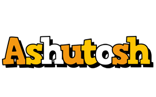 Ashutosh cartoon logo