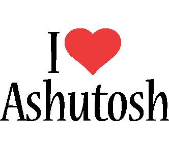 Ashutosh i-love logo