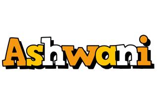 Ashwani cartoon logo