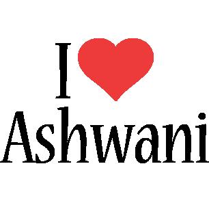 Ashwani i-love logo