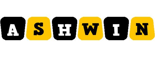 Ashwin boots logo