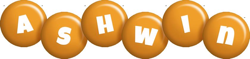 Ashwin candy-orange logo