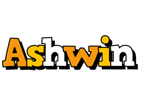 Ashwin cartoon logo