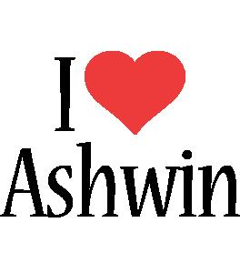 Ashwin i-love logo