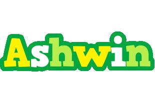 Ashwin soccer logo