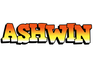 Ashwin sunset logo