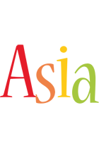Asia birthday logo