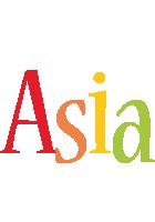 Asia birthday logo