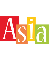Asia colors logo
