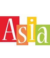 Asia colors logo
