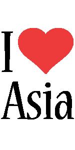 Asia i-love logo