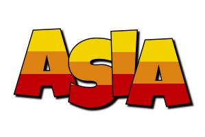 Asia jungle logo