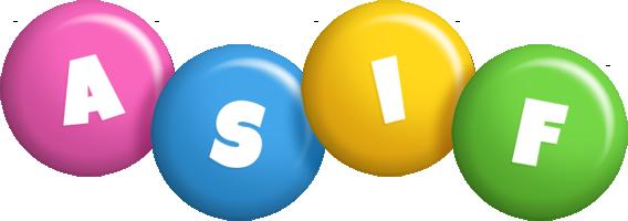 Asif candy logo