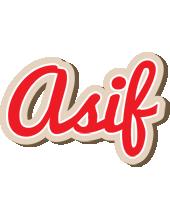 Asif chocolate logo