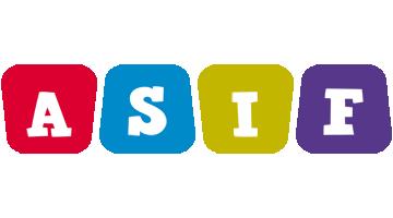 Asif daycare logo