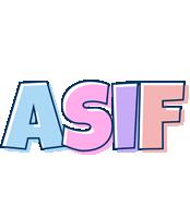 Asif pastel logo