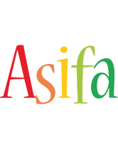 Asifa birthday logo
