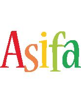 Asifa birthday logo