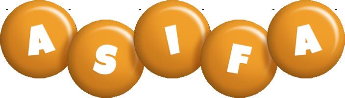 Asifa candy-orange logo