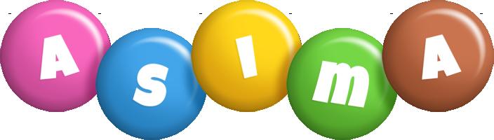 Asima candy logo