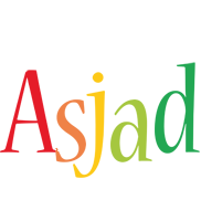Asjad birthday logo
