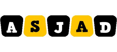 Asjad boots logo