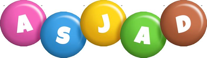 Asjad candy logo