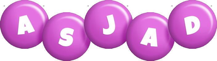 Asjad candy-purple logo