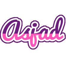 Asjad cheerful logo