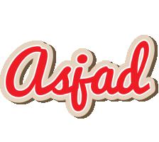 Asjad chocolate logo