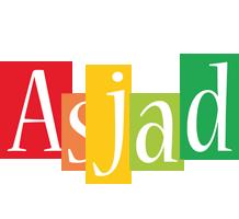 Asjad colors logo