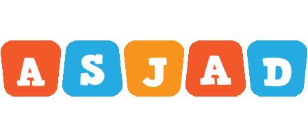 Asjad comics logo