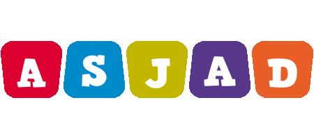 Asjad daycare logo