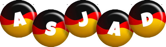 Asjad german logo