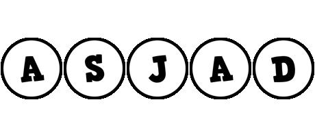 Asjad handy logo