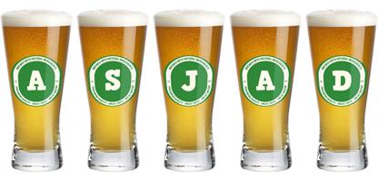 Asjad lager logo