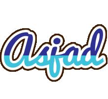 Asjad raining logo