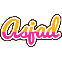 Asjad smoothie logo