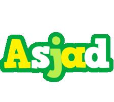 Asjad soccer logo