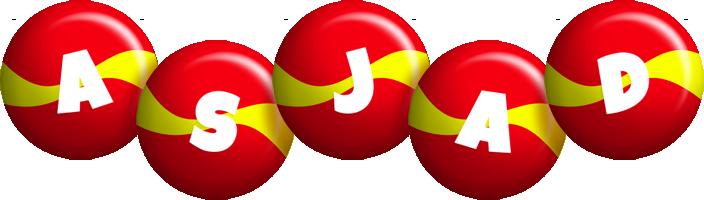 Asjad spain logo
