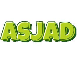 Asjad summer logo