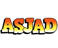 Asjad sunset logo