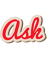 Ask chocolate logo