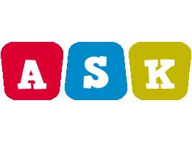 Ask daycare logo