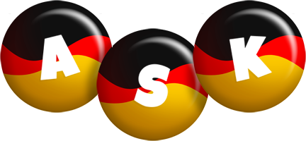Ask german logo