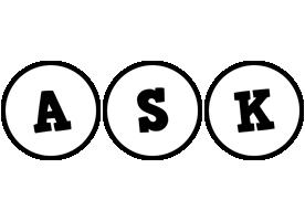 Ask handy logo