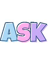 Ask pastel logo