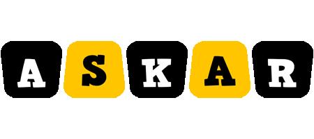 Askar boots logo